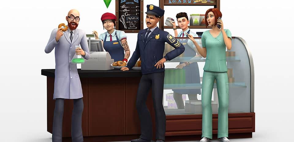 The Sims 4 merilis Expansion Pack perdana, Get To Work