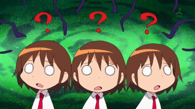 5 Adegan Lucu Yang Sering Muncul Di Anime