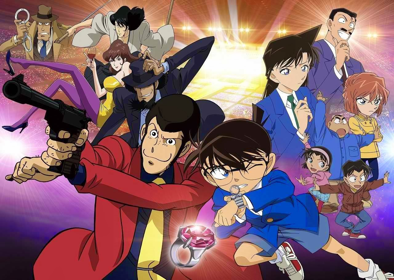 5 Rekomendasi Anime Crossover Wajib Tonton Lupin And Conan GwiGwi