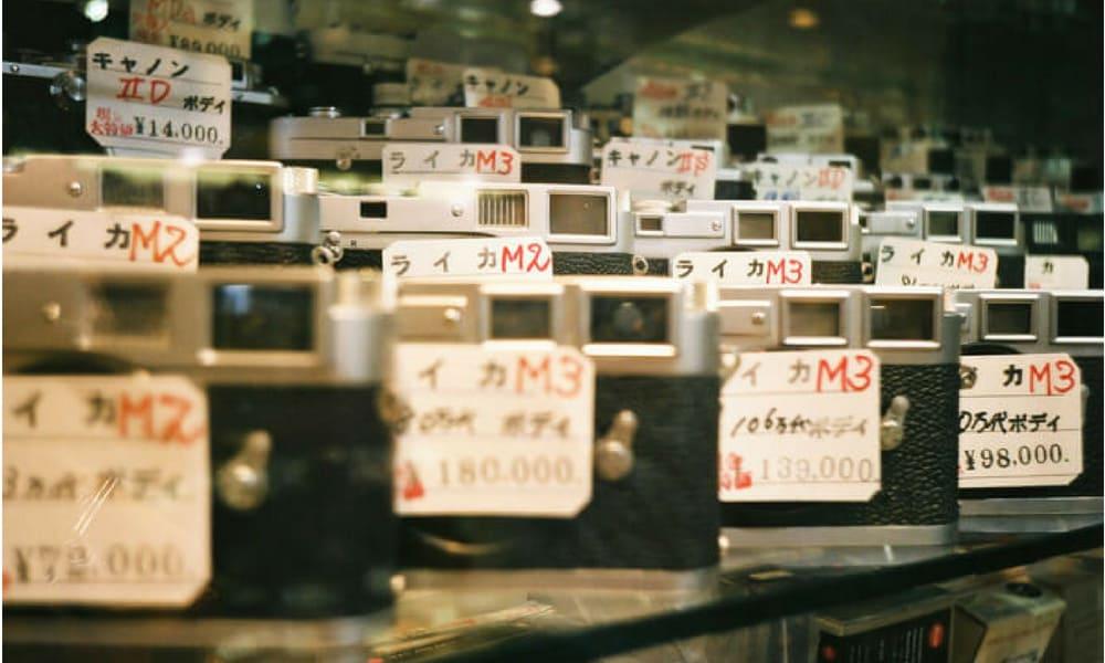 Berburu Kamera Analog Di Toko Kamera Bekas Di Tokyo Gwigwi