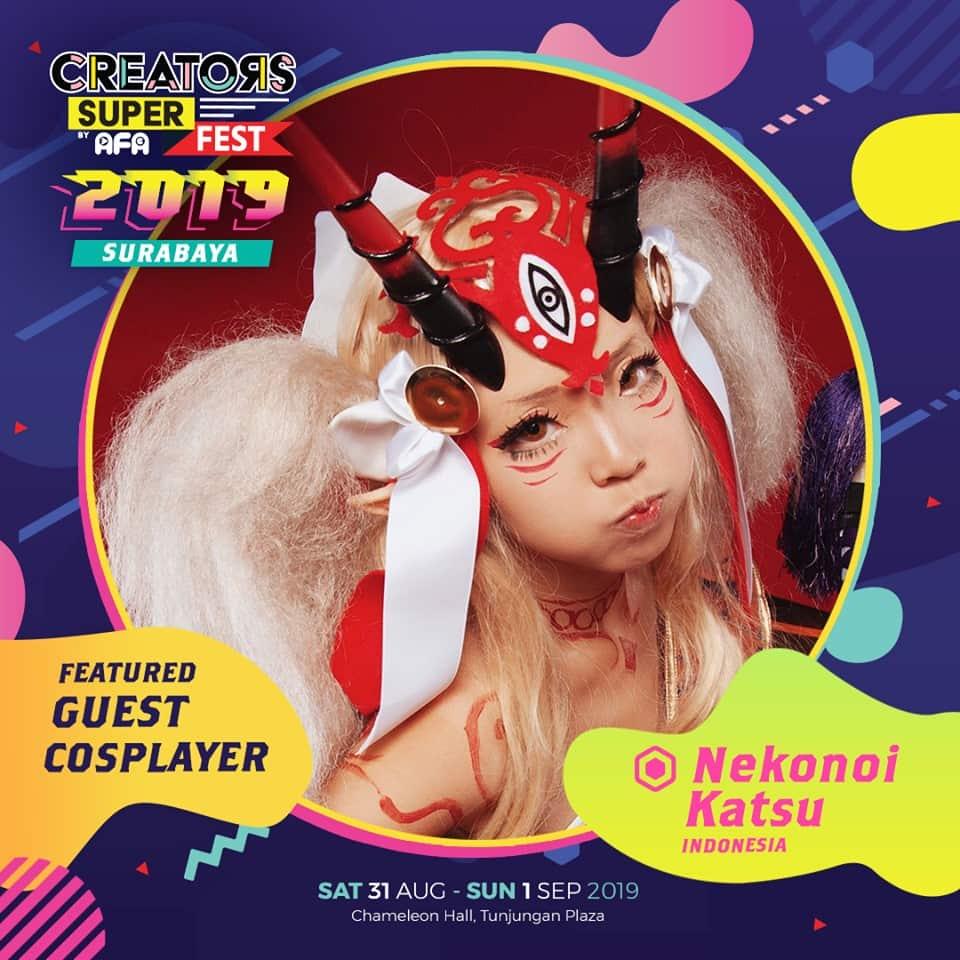 CSF19SBY Guest Cosplayer NEKONOI KATSU (Indonesia)