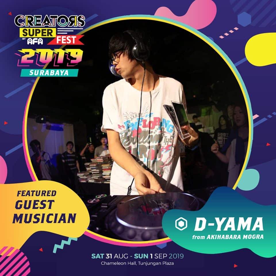 CSF19SBY Guest Musician DYAMA (Japan)