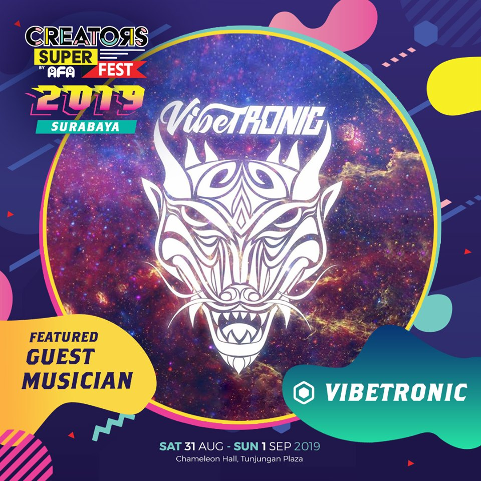 CSF19SBY Guest Musician VIBETRONIC (Indonesia)