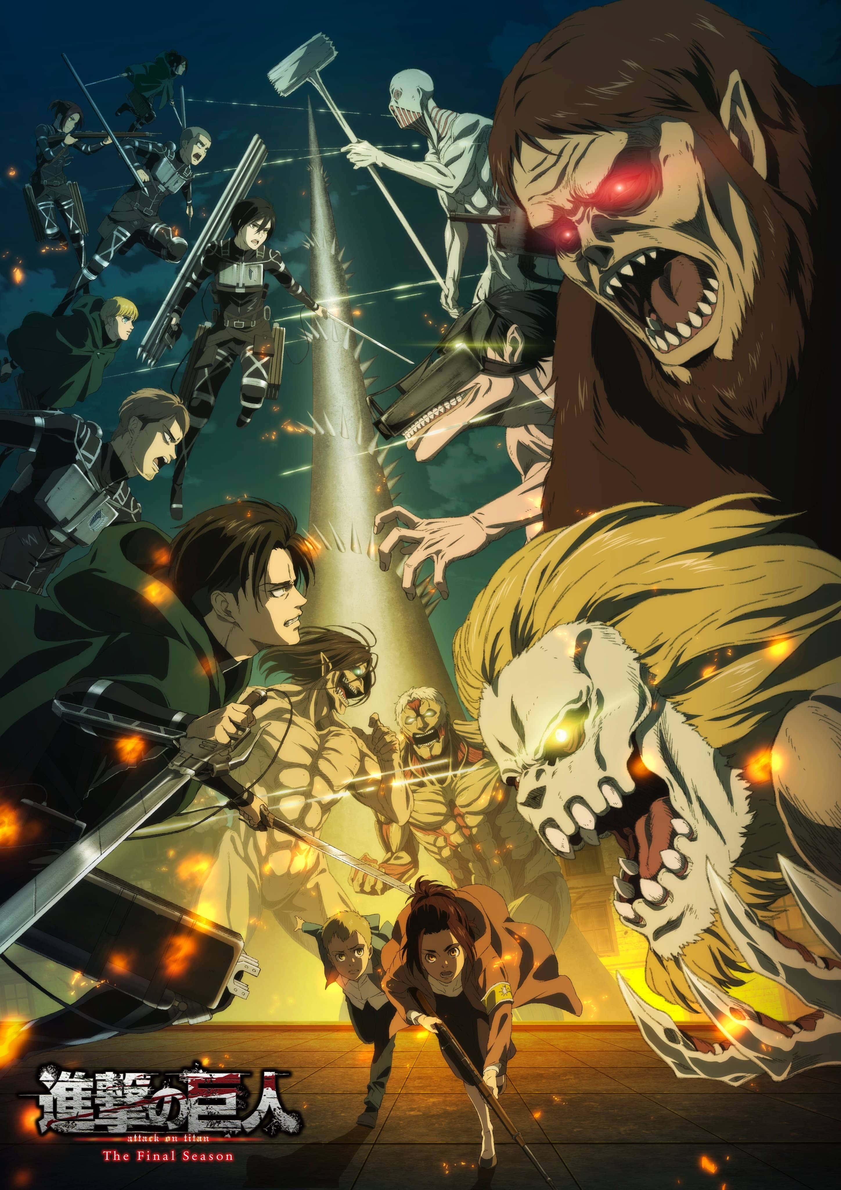 Sambut Anime Attack On Titan Final Season Dengan Visual Baru Yang Mengesankan Gwigwi